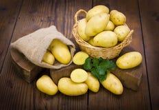 Fresh organic potatoes Stock Image