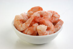 fresh organic prawns ready to eat Royalty Free Stock Photography