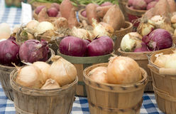 Fresh organic produce for sale Royalty Free Stock Image
