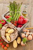 Fresh organic produce Stock Photography