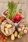 Fresh organic produce Stock Photography