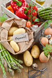 Fresh organic produce Stock Images