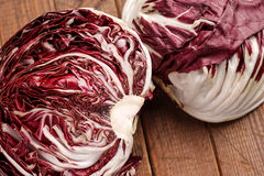 Fresh organic Radicchio Lettuce Stock Photography
