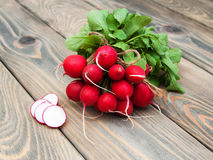 Fresh organic radish Royalty Free Stock Photo