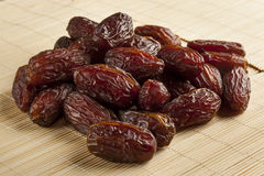 Fresh Organic Raw Brown Date Fruit. Against a background stock photos