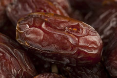 Fresh Organic Raw Brown Date Fruit Stock Photography
