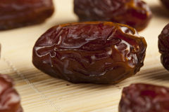 Fresh Organic Raw Brown Date Fruit Royalty Free Stock Images