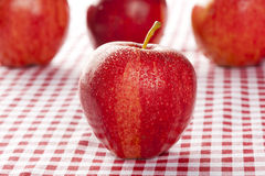 Fresh Organic Red Apple Royalty Free Stock Photo