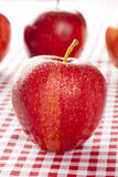 Fresh Organic Red Apple Royalty Free Stock Photos