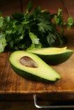 Fresh organic ripe avocado Royalty Free Stock Photos