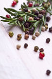 Fresh organic rosemary Royalty Free Stock Images