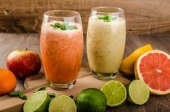 Fresh organic smoothie Royalty Free Stock Image