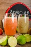 Fresh organic smoothie Stock Photography