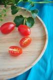 Fresh organic tomato Royalty Free Stock Photos