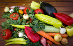 Fresh organic vegetables Stock Image