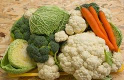 Fresh organic vegetables Stock Photos