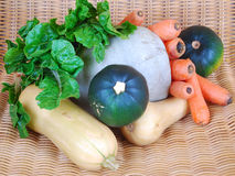 Fresh organic vegetables Stock Photo