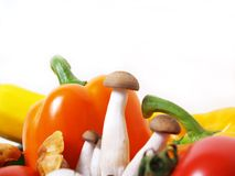 Fresh organic vegetables. Farm fresh vegetables from a local market Royalty Free Stock Images