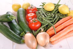 Fresh organic vegetables Royalty Free Stock Photo