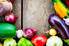Fresh Organic Vegetables. Autumn Harvest Concept Royalty Free Stock Images