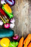 Fresh Organic Vegetables. Autumn Harvest Concept Stock Image