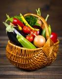 Fresh, organic vegetables Stock Photo