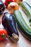 Fresh organic vegetables close-up Stock Photo