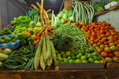 Fresh and organic vegetables Stock Photos