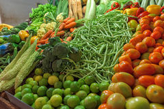 Fresh and organic vegetables Stock Photography