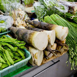 Fresh and organic vegetables in market at Thailand Royalty Free Stock Photography