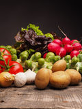 Fresh organic vegetables Royalty Free Stock Photo