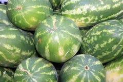 Watermelon on Farmers Market in Catania royalty free stock photo