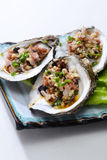 Fresh oyster Royalty Free Stock Image