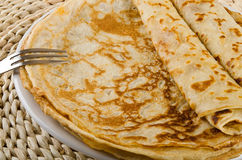 Fresh pancakes Royalty Free Stock Photography