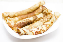 Fresh pancakes Royalty Free Stock Images