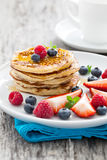 Fresh pancakes Royalty Free Stock Photo