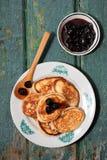 Fresh pancakes Stock Photography