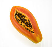 Fresh papaya Royalty Free Stock Images