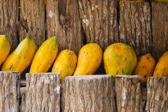 Fresh papayas Royalty Free Stock Image