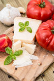 Fresh Parmesan Cheese Stock Images