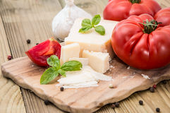 Fresh Parmesan Cheese Royalty Free Stock Images