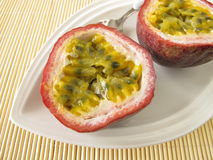 Fresh passion fruit Stock Photos