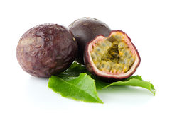 Fresh passion fruit Stock Photography