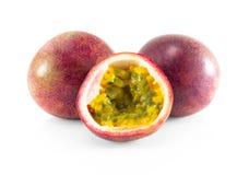 Fresh passion fruit isolated on white background, food healthy concept. Fresh passion fruit isolated on white background, food healthy stock images