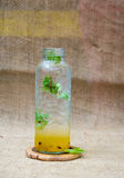 Fresh passion fruit juice Royalty Free Stock Image
