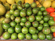 Fresh Passion Fruit in a local market at thailand Royalty Free Stock Photography