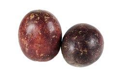 Fresh passion fruit Stock Images
