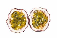 Fresh passion fruit Stock Images