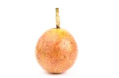 Fresh passion fruit. On white background Royalty Free Stock Photo