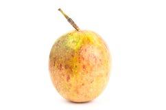 Fresh passion fruit. On white background Royalty Free Stock Photography